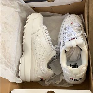 Brand new Fila white sneaker